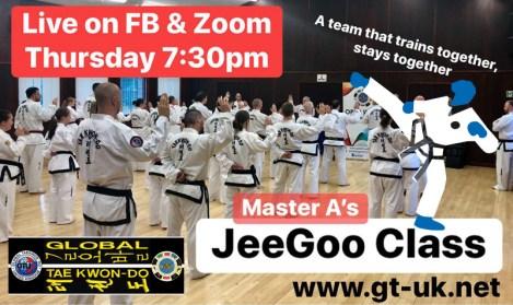 JeeGoo with Master Auciello