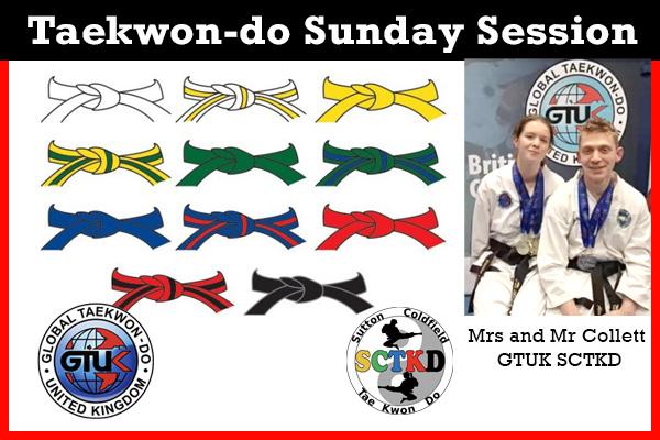 Taekwon-doSunday Session