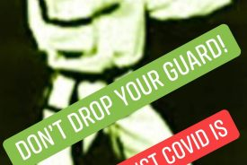 """""""Don't Drop Your Guard! The Fight Against Covid is Still On!"""""""