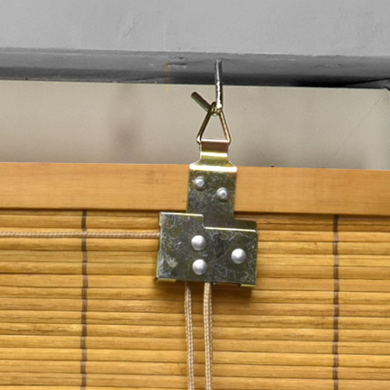 Bambus Holz Rollo Bambusrollo Raffrollo Fenster Sichtschutz Holzrollo Klemmfix  eBay