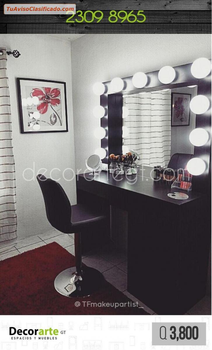 Muebles para saln de belleza barbera y SPA _ Decorarte