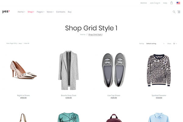 Multipurpose WooCommerce WP Theme Yez