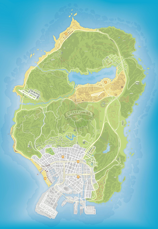 Gta 5 Hospital Location : hospital, location, Hospitais