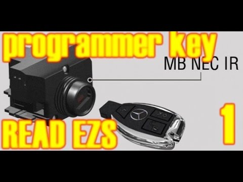 how you can add key or all key lost mercedes w203 6 ooo