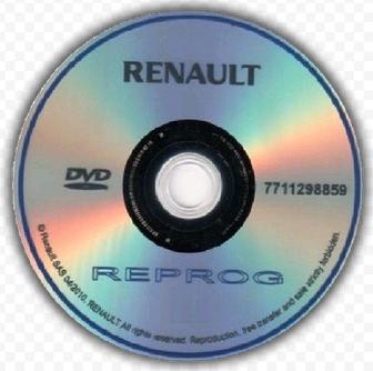 Renault Reprog 181 DVD 2020 full ISO Free Download