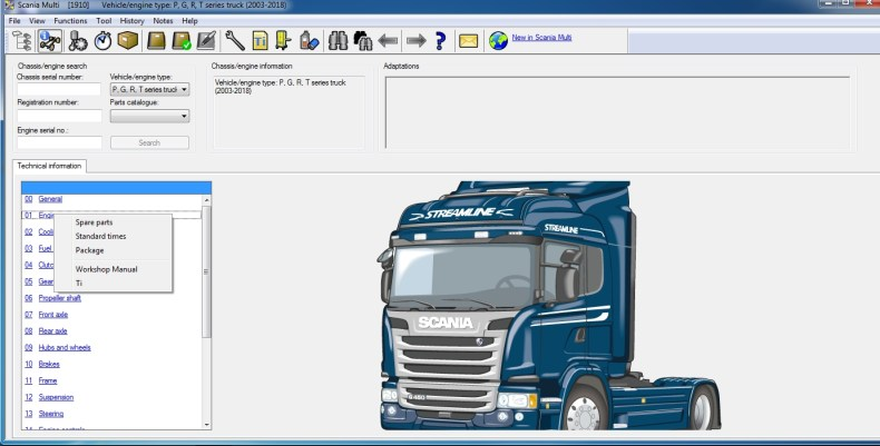 Scania Multi 2020 version 20.50.0.3 Multilingual 2 Scania Multi 052020 Workshop Spare Parts Catalog Full Instruction 8 1
