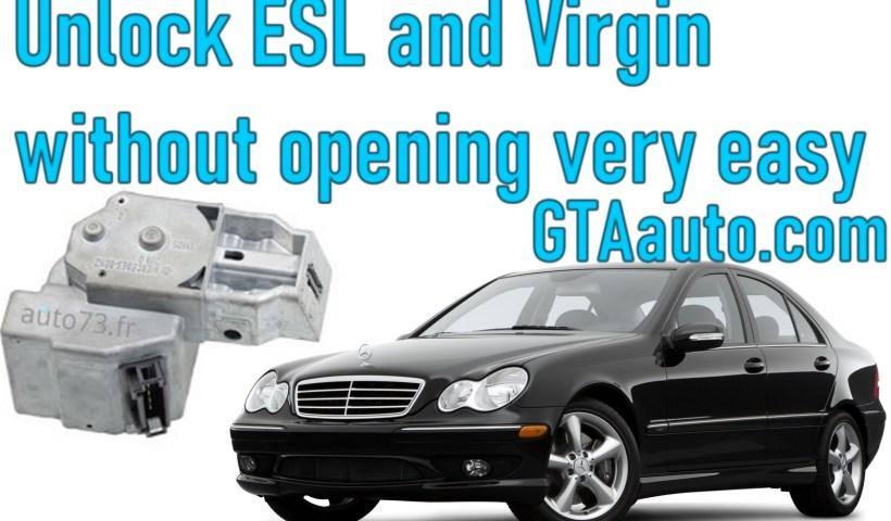 AVDI unlock ESL / ELV and virgin without opening very easy 1 Sans titre 1
