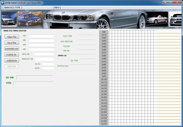 BMW ECU CLEAR IMMOBILIZER 1 57 22
