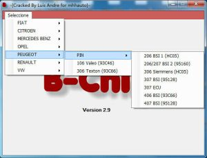 Code PIN IMMO Calculator software 11 57 44