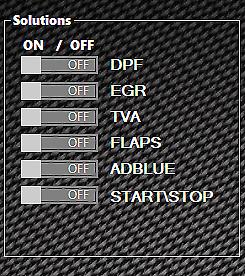 SOFTWARE DPF EGR ADBLUE OFF SOLUTION 2021 10 57 8