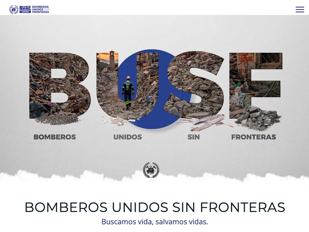Imagen web BUSF ONG
