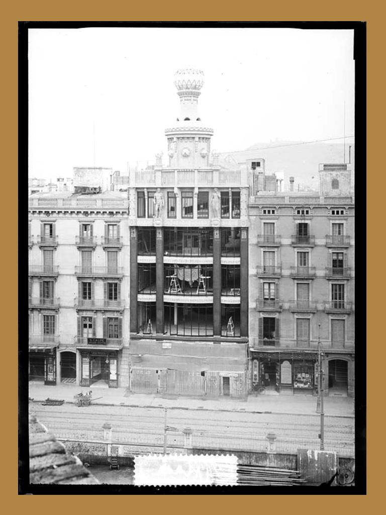 Vista de Can Damians 1915