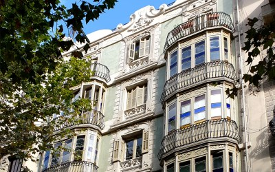 La rehabilitació de la façana de València, 198