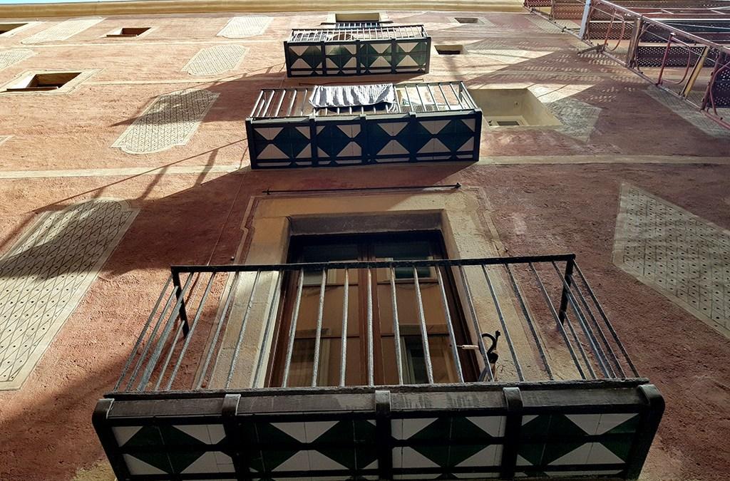 La rehabilitación de los balcones de Roig, 2