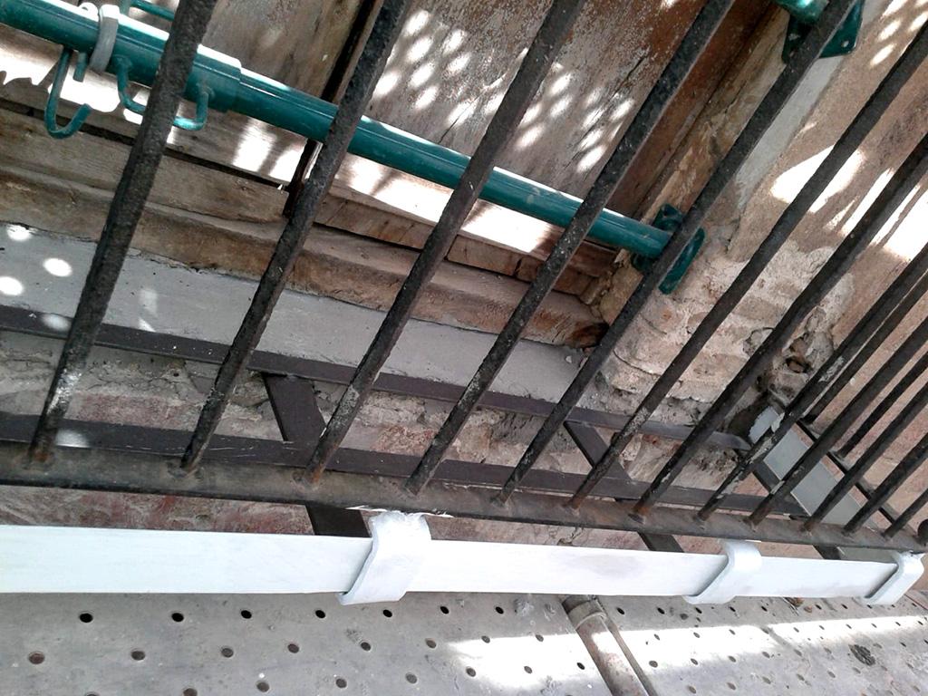 Fachada calle Hospital edificio Barroco rehablitado