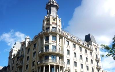 Inicio rehabilitación del edificio de Via Laietana, 2