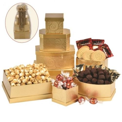 Chocolate gift Tower, Valentine's day gift, chocolate gift Toronto, Scarborough Valentines gift delivery