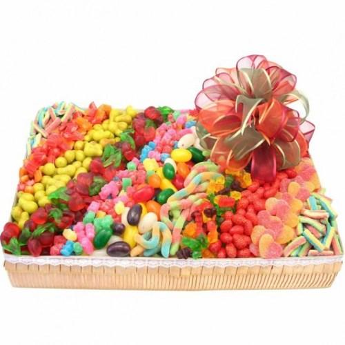 Candy Gift Basket Ideas, goodies, candies