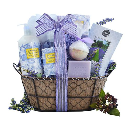 Lavender Relaxation Spa Basket