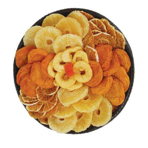 ringlets of dried fruits