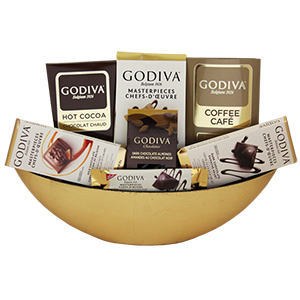 Golden Boat Chocolate Explosion, Thanksgiving day gifts Toronto, gifts for thanksgiving, chocolate gifts Toronto, Toronto chocolate gifts delivery