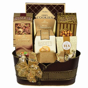 Gourmet Classic gift Canada, corporate gift basket, office gifts, gift basket delivery New market
