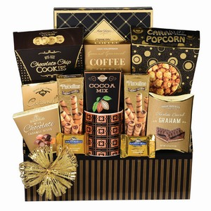 Perfect Indulgence gift baskets Toronto, gift for coworkers, corporate gift, corporate gifts delivery Toronto