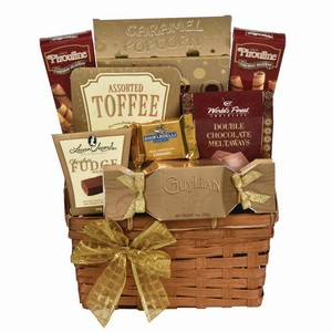 Sweet and savory gift, Sympathy gift basket, gift baskets delivery Toronto