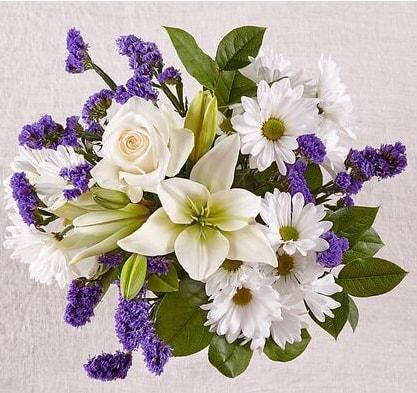 Morning glory bouquet, floral bouquet, Toronto Florists