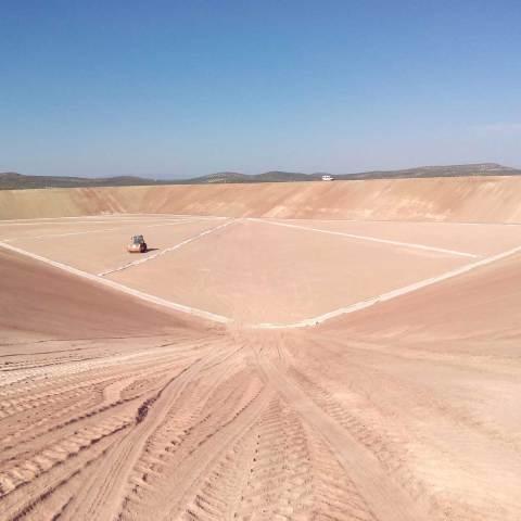Proyecto de transformacion en regadío de 600 hectareas