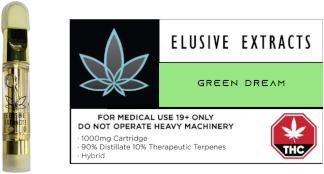 Green Dream vape cartridge