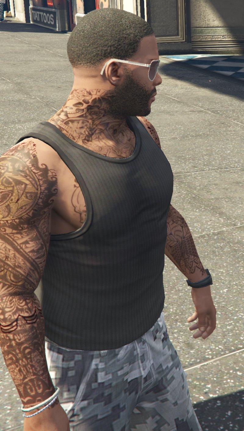 Gta 5 Online Tattoos : online, tattoos, Tattoo, Online, Design, Around