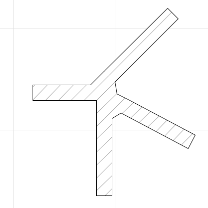 Wall intersection issue/ control of - creative use of the Polygonal Wall (4/5)