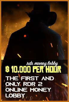 Product: RDR2 Red Dead Online modded money lobby