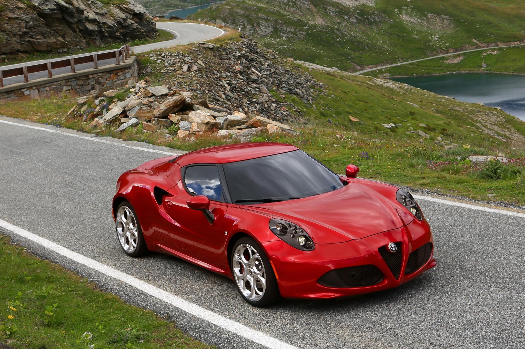 2014 Alfa Romeo 4C Red Exterior