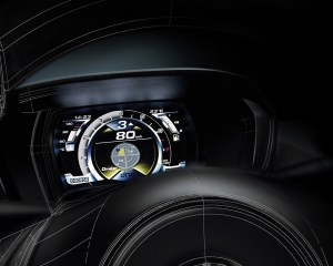2014 Alfa Romeo 4C Speedometer and Panel