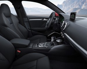 2015 Audi A3 Front Seat and Interior View