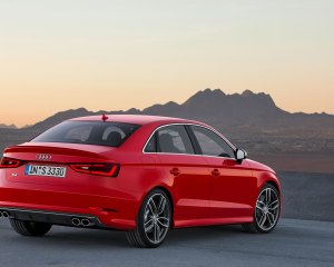 2015 Audi A3 Red Exterior View