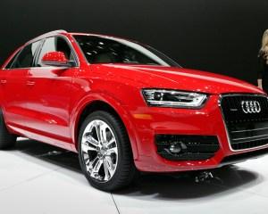2015 Audi Q3 Red Exterior View