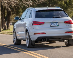 2015 Audi Q3 White Read View