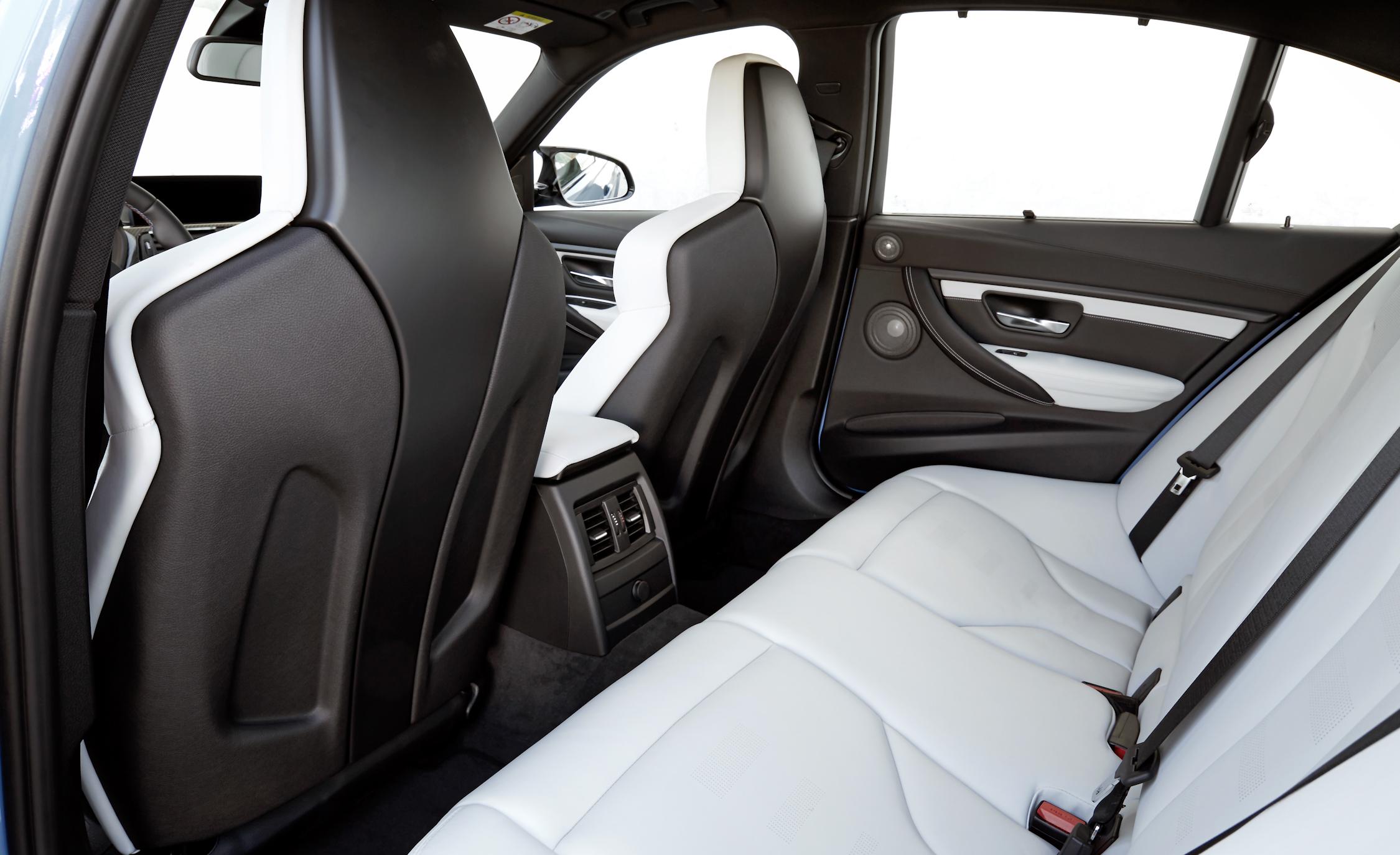 2015 BMW M3 Interior Rear