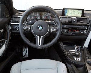 2015 BMW M3 Interior Steering