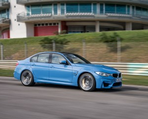 2015 BMW M3 Performance Side View