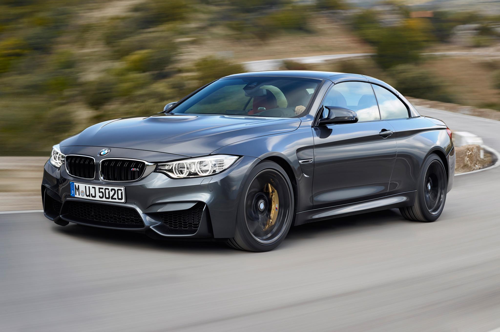 2015 BMW M4 Convertible Road Performance