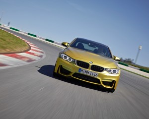 2015 BMW M4 Coupe Test Front View