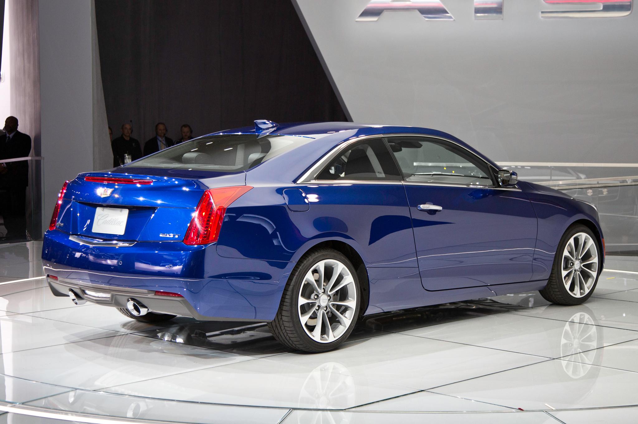 2015 Cadillac ATS Coupe Rear Design