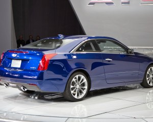2015 Cadillac ATS Coupe Rear Design