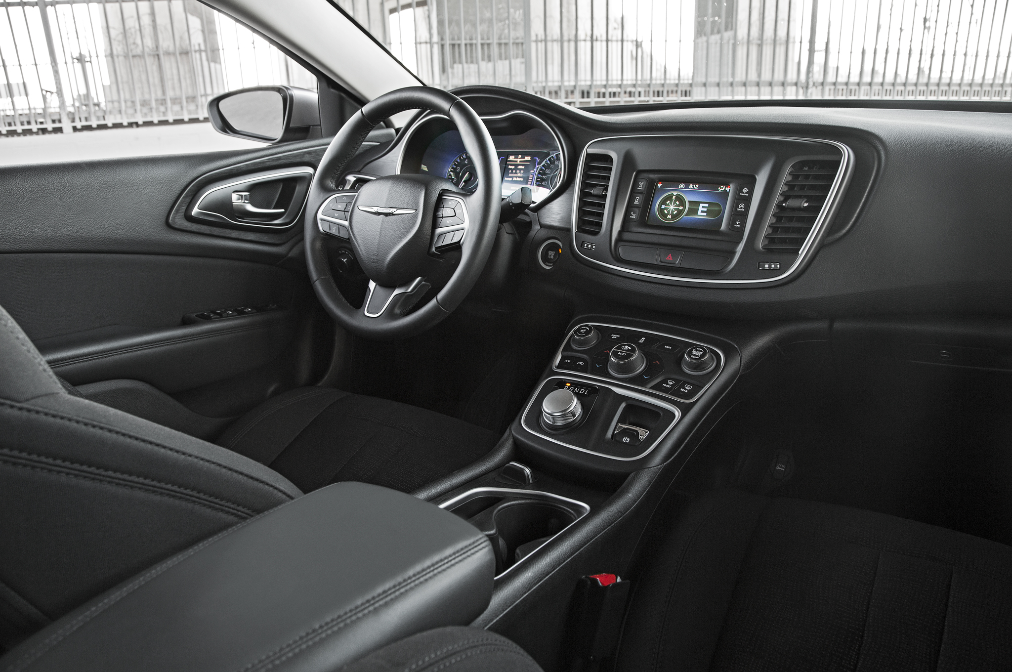 2015 Chrysler 200 Dashboard and Cockpit