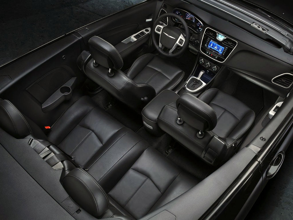 2015 Chrysler 200 Interior View