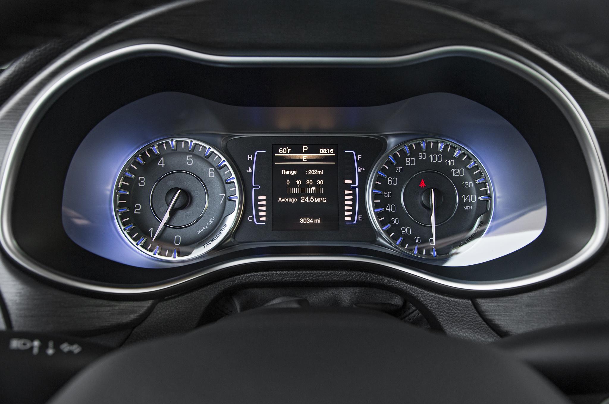 2015 Chrysler 200 Speedometer